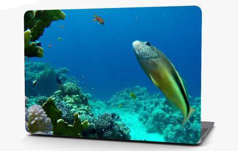 Coral Reef Vinyl Laptop Computer Skin Sticker Decal Wrap Macbook Various Sizes
