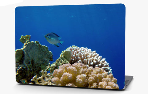 Coral Reef Fish Vinyl Laptop Computer Skin Sticker Decal Wrap Macbook Various Sizes