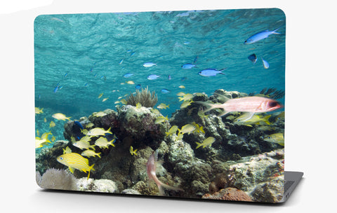 Colorful Fish Vinyl Laptop Computer Skin Sticker Decal Wrap Macbook Various Sizes