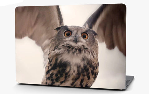 Owl Vinyl Laptop Computer Skin Sticker Decal Wrap Macbook Various Sizes