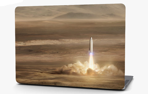 Rocket Vinyl Laptop Computer Skin Sticker Decal Wrap Macbook Various Sizes