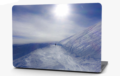 Icy Tundra Landscape Vinyl Laptop Computer Skin Sticker Decal Wrap Macbook Various Sizes