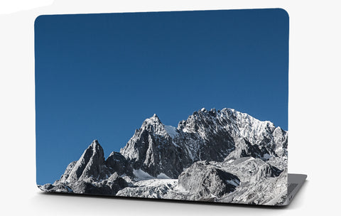Mountain Peek Snow Landscape Vinyl Laptop Computer Skin Sticker Decal Wrap Macbook Various Sizes