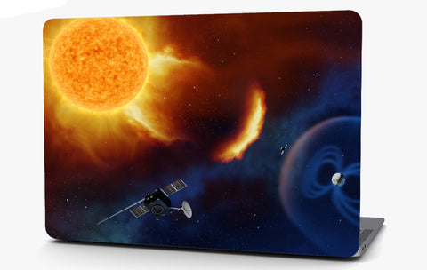 Sun in Space Vinyl Laptop Computer Skin Sticker Decal Wrap Macbook Various Sizes