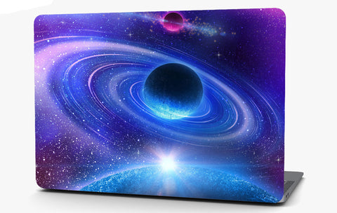 Rings in Space Vinyl Laptop Computer Skin Sticker Decal Wrap Macbook Various Sizes