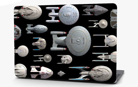 Star Trek Vinyl Laptop Computer Skin Sticker Decal Wrap Macbook Various Sizes