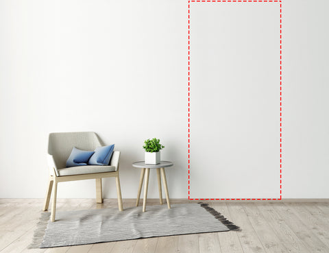 Custom Interior Wall Decal Up To 46 x 96 Inches