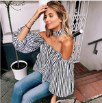 Karen - Off Shoulder Choker Top