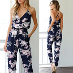 Alice - Floral Jumpsuit