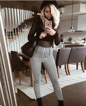 Emily - Vintage Plaid Pants