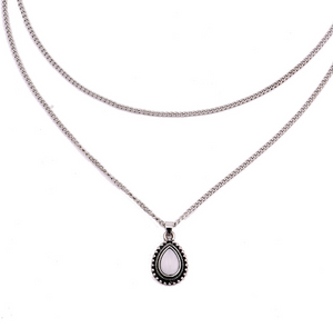 Myra- Water Droplet Necklace