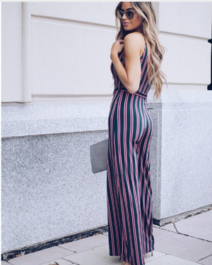 Heather - V-Neck Jumpsuit
