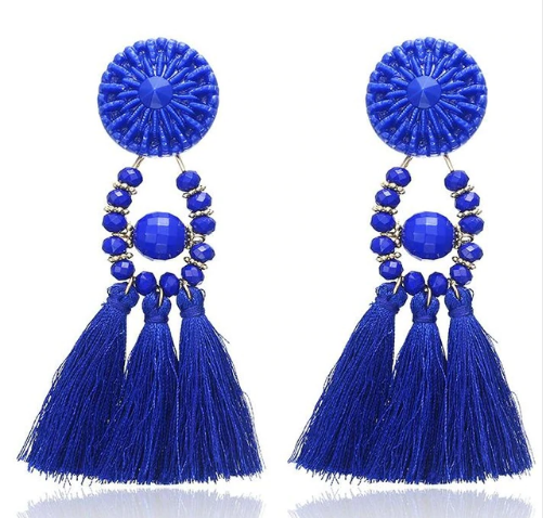 Ellaria - Boho Tassel Earrings