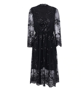 Sofia - Lace and Sequin Dress