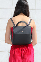 Leather Backpack - Adore Thix