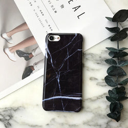 Black Marble iPhone case - Adore Thix