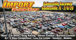 Event Coverage Import Face-Off Gainesville Raceway, Florida on 2/9/2020.