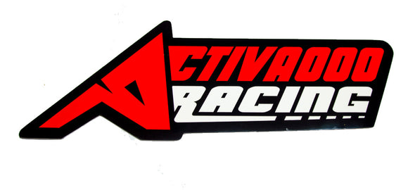Activaooo Racing Sticker - V2