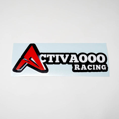 ACTIVAOOO RACING STICKER - ACTIVAOOO RACING