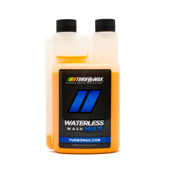 TURBO WAX WATERLESS WASH