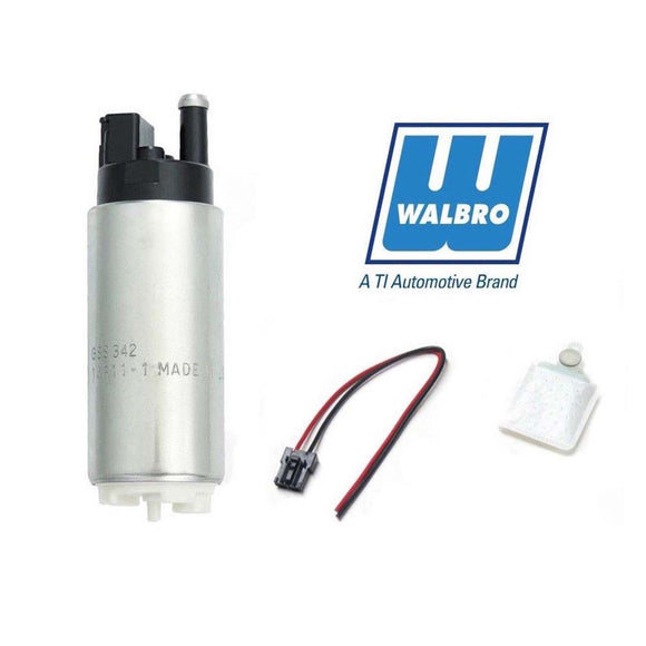 WALBRO GSS342 255LPH HIGH PERFORMANCE RACING IN TANK FUEL PUMP + KIT