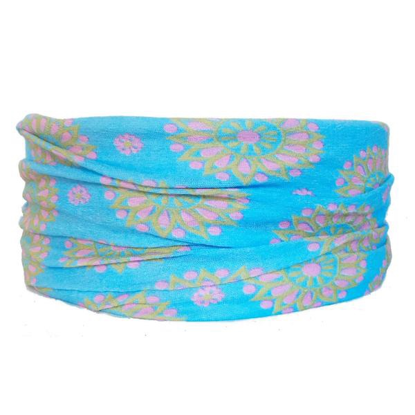 Sky Flower Tube Turban