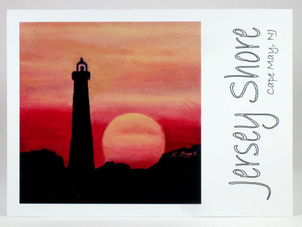 Jersey Shore Greeting Cards (Set of 8) - Blank inside - with Artwork by Adults with Special Needs