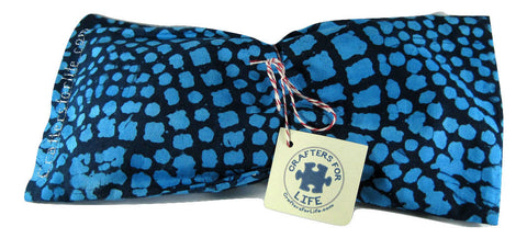 Blue Spotted Lavender Eye Pillow