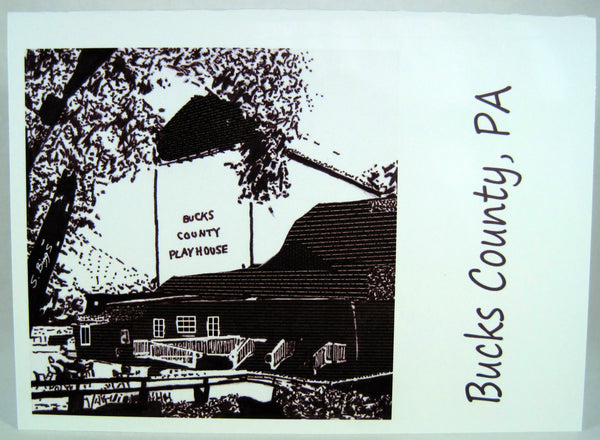 Bucks County Greeting Cards with Artwork by Special Needs Adult