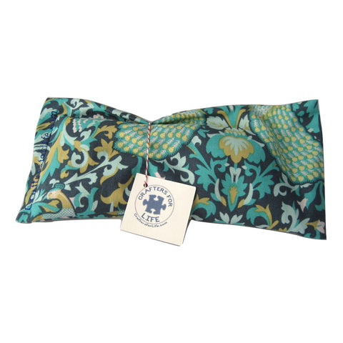 Green & Blue Lavender Eye Pillow