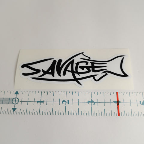 SAVAGE ROD CO. DECAL