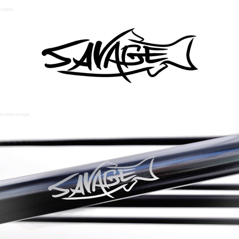 Savage Rod Co.  Spey 13' #7/8-Matt Black