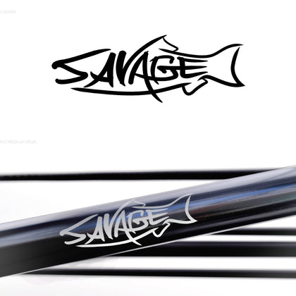 Savage Rod Co.  Switch 11' #6/7-Matt Black