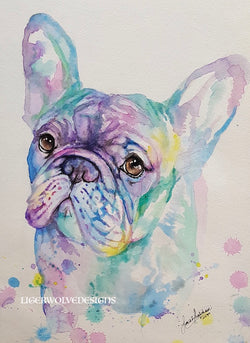 Custom Watercolour Portrait