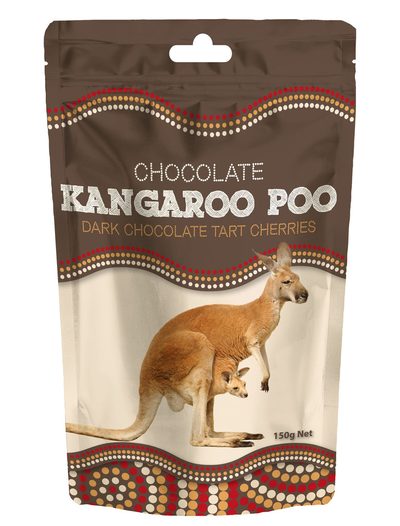 Kangaroo Poo  (Dark Chocolate Tart Cherries)