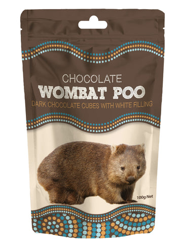Wombat Poo (Dark Chocolate Cubes)