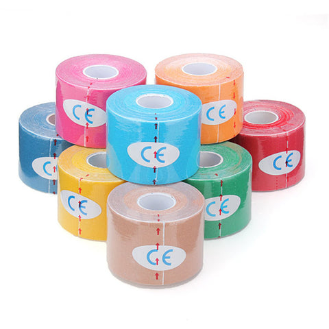 Bandage Kinesiology Support Protect Muscles Cotton Waterproof Breathable
