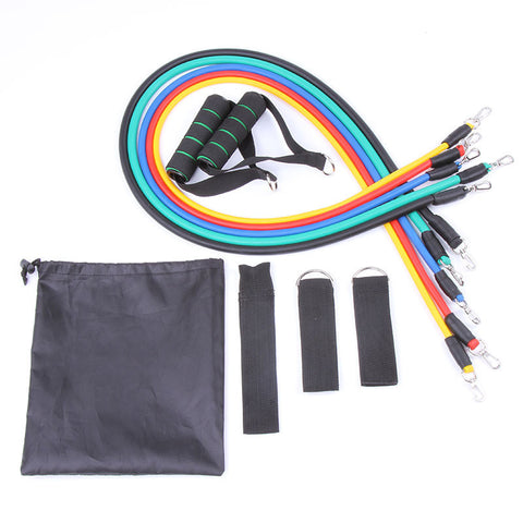 Exercise Resistance Band Set for Yoga, Pilates, Crossfit, General Fitness, Workouts