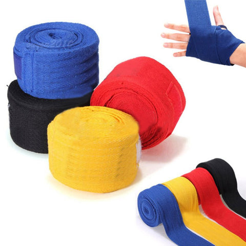 Handwrap Boxing Karate Workout Supportive Protective Bandages Pair