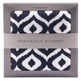 Bookoo Babies Moroccan Blue Newcastle Blanket