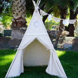 Bookoo Babies White Teepee With Mat