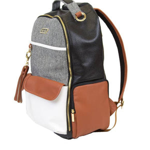 Coffee & Cream Diaper Bag Backpack