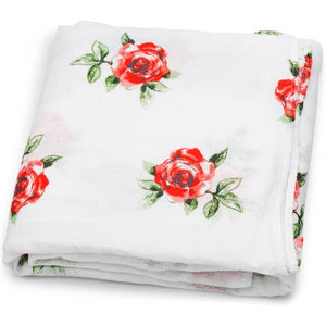 Bookoo Babies Red Rose Swaddle