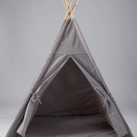 Bookoo Babies Gray Teepee With Mat