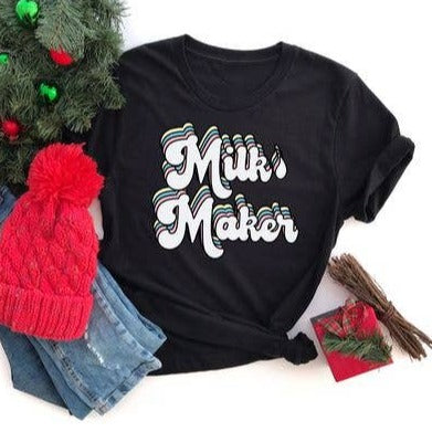 Bookoo Momma Milk Maker Cotton Blend Tee
