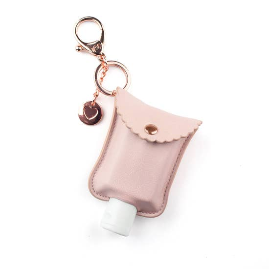 Blush Hand Sanitizer Charm