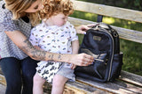 Itzy Mini Diaper Bag Backpack - Black