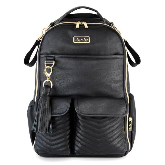 Boss Diaper Bag Backpack - Jetsetter Black