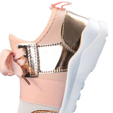 Bookoo Babies Flex Metallic Sneakers