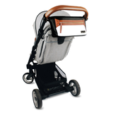 Bookoo Babies Coffee & Cream Travel Stroller Caddy